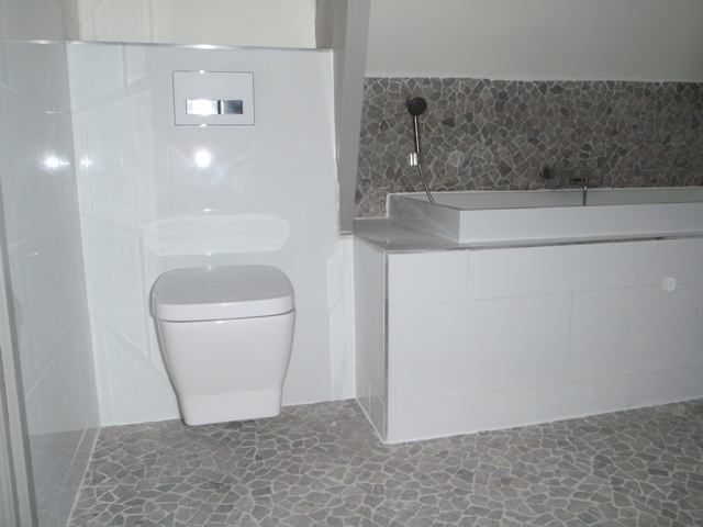 Leemstuc In De Badkamer ~ WC badkamer af